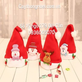 Mũ đội Noel bằng nỉ