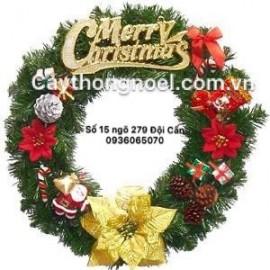Vòng nguyệt quế Noel
