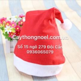 Mũ Noel bằng nỉ
